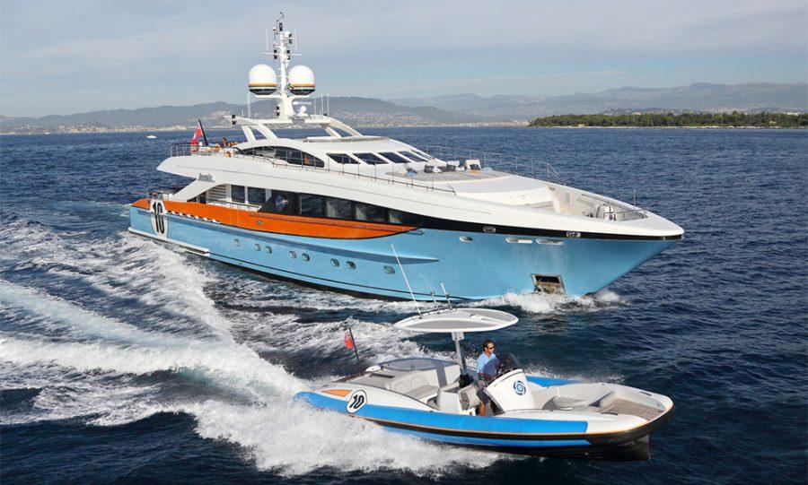 Award-winning AURELIA Joins the Fraser Charter Fleet