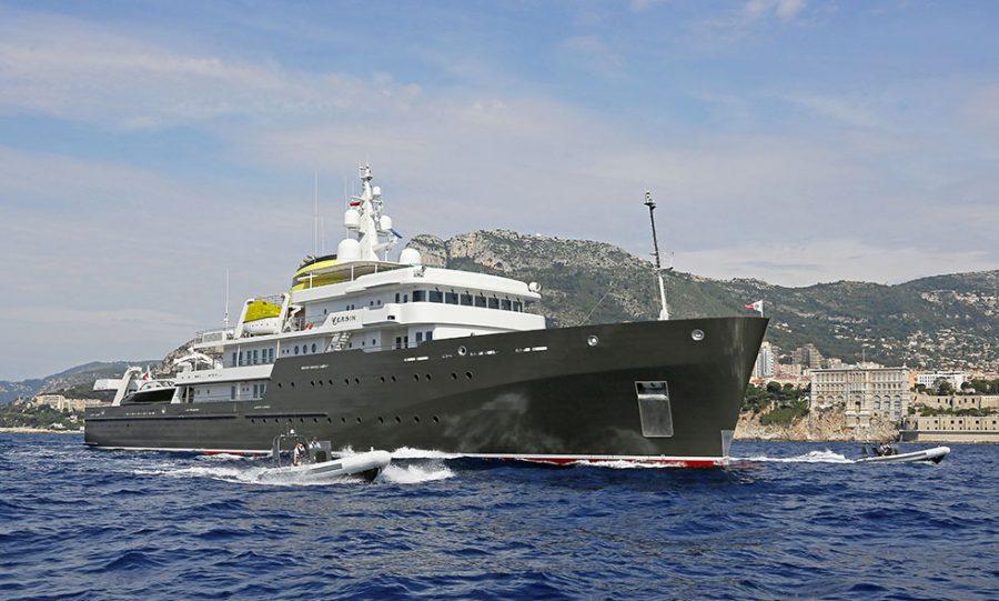 YERSIN, the greenest explorer yacht in the world, returns to the Fraser Charter fleet